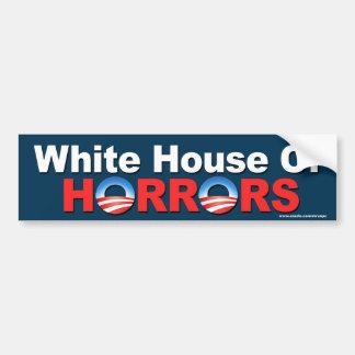 """AntiHorror Obama """"das Weiße Haus von"""" Aufkleber Autoaufkleber"""