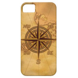 Antike Art-Kompass-Rose iPhone 5 Etuis