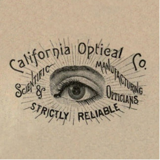 Antike AugenGebrauchsgrafik Freistehende Fotoskulptur