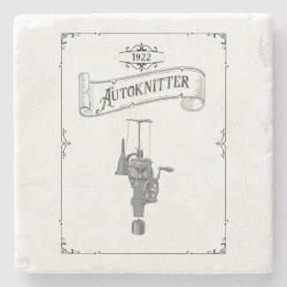 Antike Autoknitter KreisSockknitting Maschine Steinuntersetzer