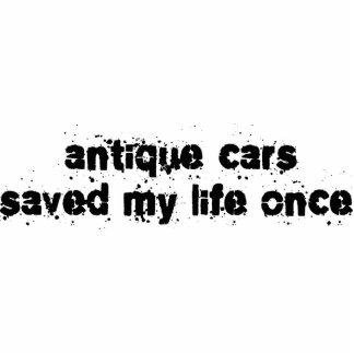 Antike Autos retteten mein Leben einmal Photofiguren
