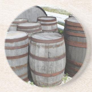 Antike Bier-Fass-Fotografie Untersatz