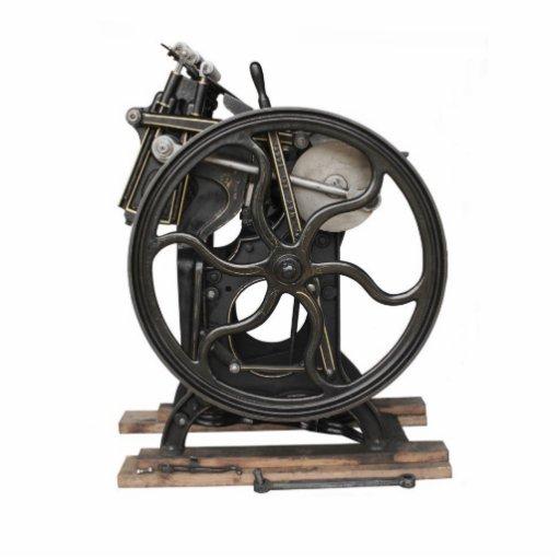 antike Briefbeschwerer-Fotoskulptur