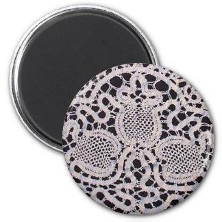 Antike Cantu Spitze Runder Magnet 5,1 Cm