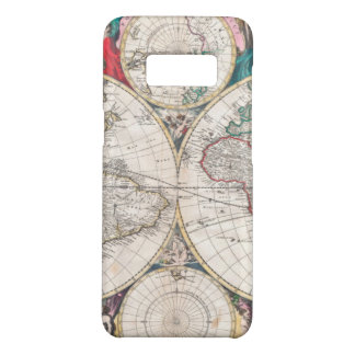 Antike Doppelt-Hemisphäre Weltkarte Case-Mate Samsung Galaxy S8 Hülle
