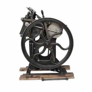 antike Fotoskulptur des Briefbeschwerers ab 1901
