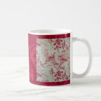 Antike Franzosen Toile Kaffeetasse