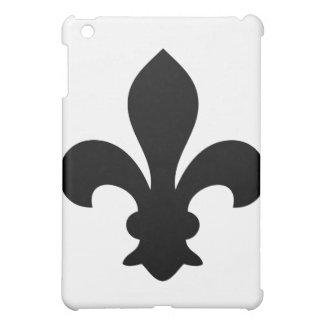 Antike französische Chic-Lilien-Silhouette Hüllen Für iPad Mini