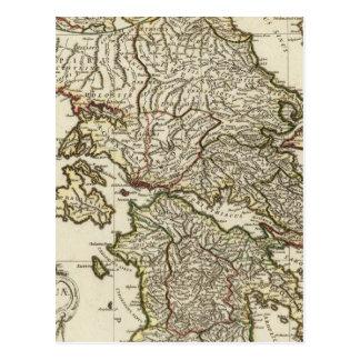 Antike griechische Karte