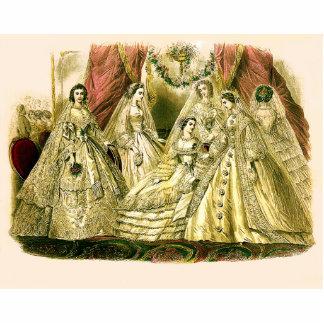 Antike Hochzeit Braut Freistehende Fotoskulptur