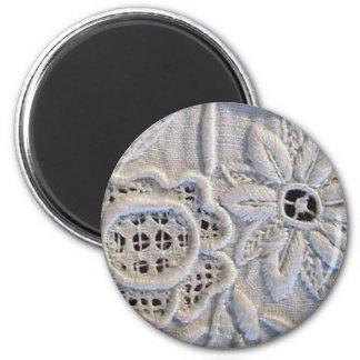 Antike italienische Stickerei Magnets