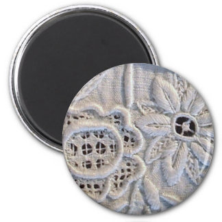 Antike italienische Stickerei Runder Magnet 5,7 Cm