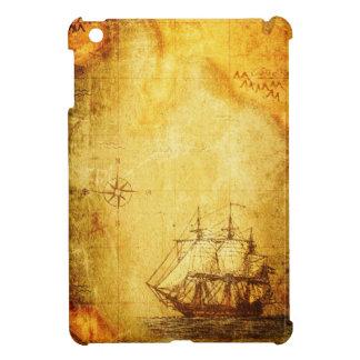 Antike Karte u. Schiff iPad Mini Hülle