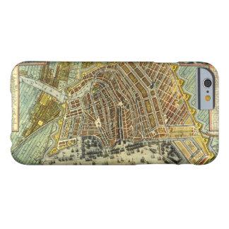 Antike Karte von Amsterdam, Holland die alias Barely There iPhone 6 Hülle