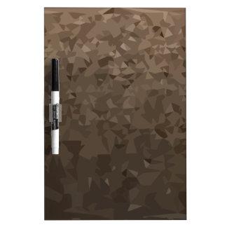 Antike MessingCamouflage-abstrakter niedriger Memoboard