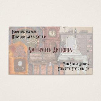 Antike Möbelgeschäft-Visitenkarte Visitenkarte