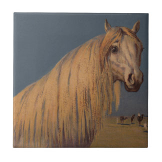 Antike Pferdekunst-arabische Keramikfliese