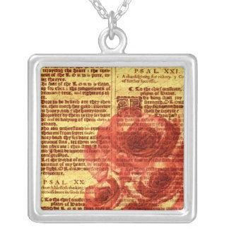 Antike Psalme u. Rosen-Halskette
