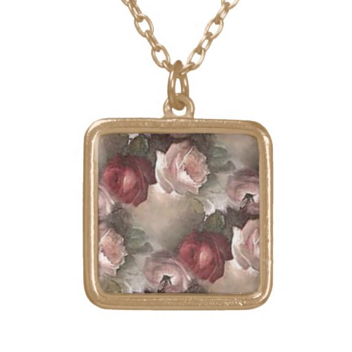 Antike Rosen-Halskette