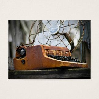 Antike Schreibmaschine - ACEO 13 Visitenkarte
