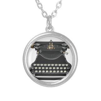 Antike Schreibmaschine Halskette