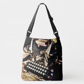 Antike Schreibmaschine Oliver #9 Tragetaschen Mit Langen Trägern