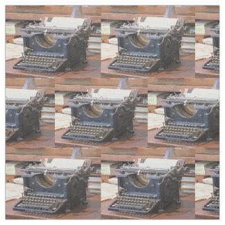 Antike Schreibmaschine Stoff