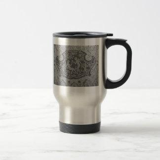 Antike Spitze-Damen-Tasse Edelstahl Thermotasse