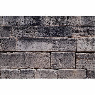 Antike Steinwand, Phaistos, Kreta, Griechenland Fotoausschnitte