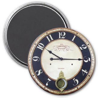 Antike Taschen-Uhr Runder Magnet 7,6 Cm