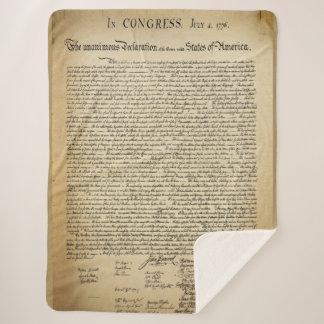 Antike Unabhängigkeitserklärung Sherpadecke