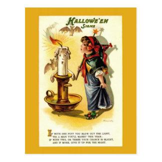 Antike/Vintage Halloween-Vermögens-Postkarte Postkarte