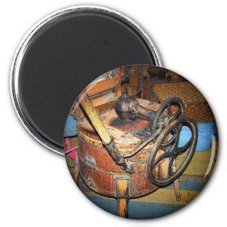 Antike Waschmaschine Runder Magnet 5,1 Cm