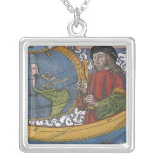 Antike Weltkarte; Amerigo Vespucci Amulett