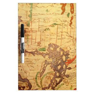 Antike Weltkarten Memoboard
