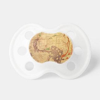 Antike Weltkarten Schnuller