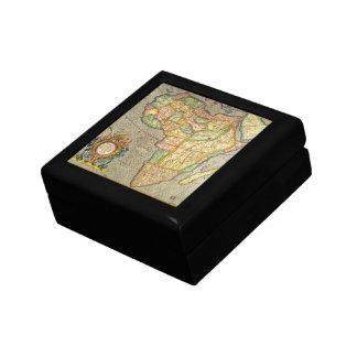 Antike Welts-Mercator-Karte von Afrika, 1633 Geschenkbox
