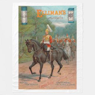 Antiker Anzeige Ellimans Embrocation 1899 Fleecedecke