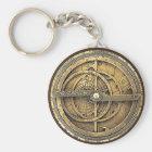 Antiker Astrolabe 2 Schlüsselanhänger