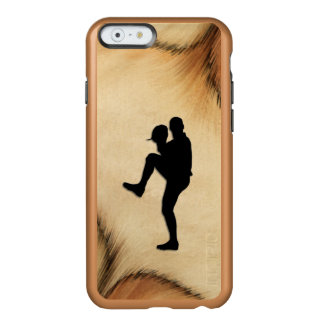 Antiker Baseball-Spieler-WerferWindup Incipio Feather® Shine iPhone 6 Hülle
