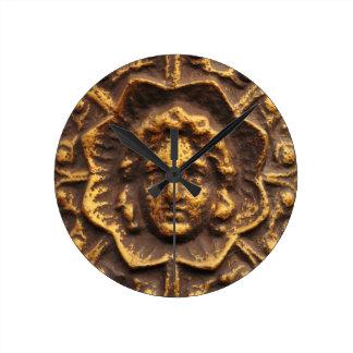 Antiker Entwurf Runde Wanduhr