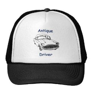 Antiker Fahrer Truckerkappen