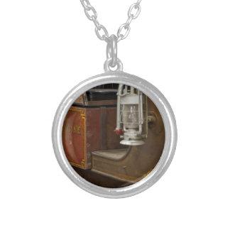 Antiker Firetruck Personalisierte Halskette