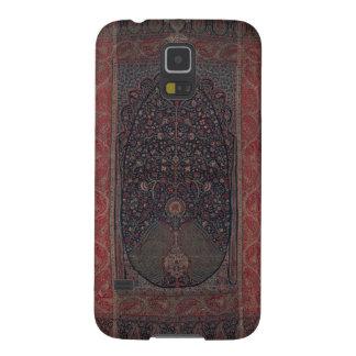 Antiker Indien-Textiltelefon-Kasten Samsung Galaxy S5 Cover