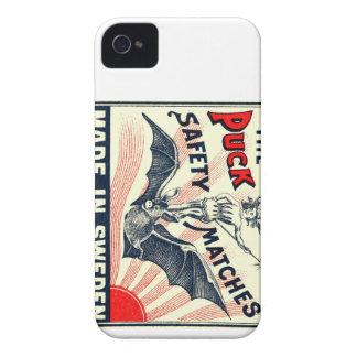 Antiker Kobold-Reitschläger-schwedischer iPhone 4 Case-Mate Hüllen