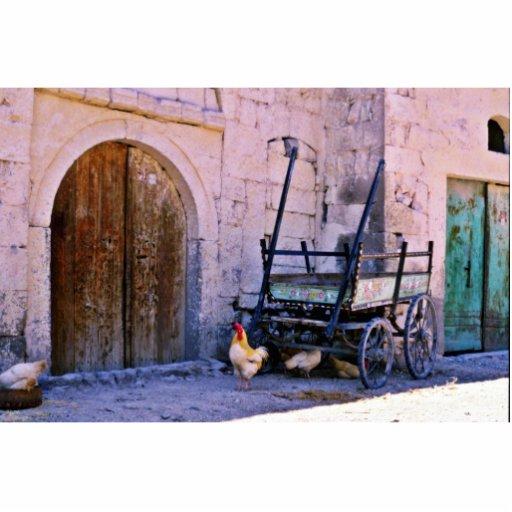 Antiker Lastwagen, Goreme, Cappadocia Fotoskulpturen