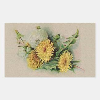 Antique Dandelion Sticker
