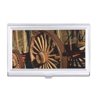 Antiker Maultierzuglastwagen Visitenkarten Dose
