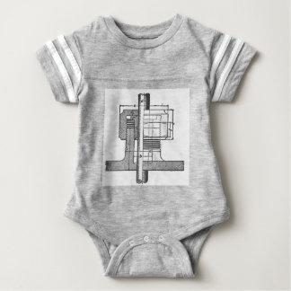 Antiker mechanischer Werkzeug-Ingenieur Baby Strampler