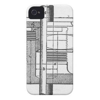 Antiker mechanischer Werkzeug-Ingenieur Case-Mate iPhone 4 Hüllen